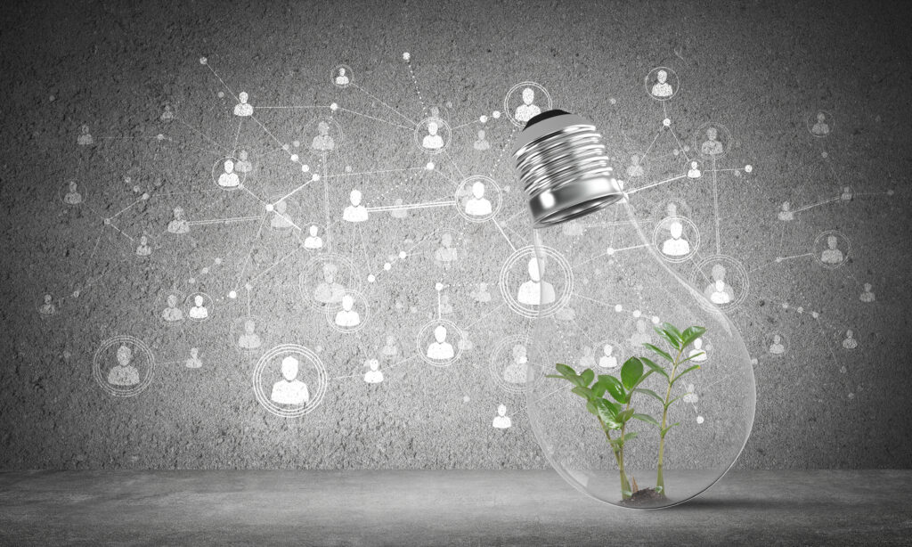 Digitalisering og grøn vækst skaber sammenhæng i det digitale univers herunder digital kommunikation og salg